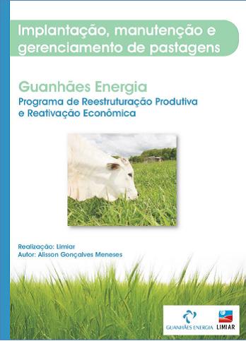 Capa da apostila do primeiro curso do programa de reestruturação produtiva